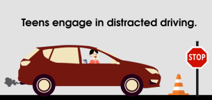 Causes of teen car accidents