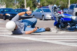 About two-thirds of motorcycle crashes in North Carolina involve a car.