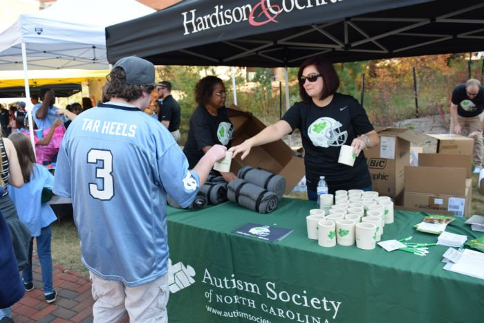Team Autism NC was created in 2014 after Hardison & Cochran decided to become a sponsor of Carolina Athletics.