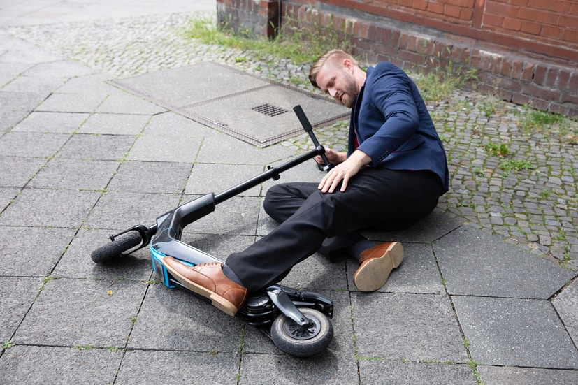 Electronic Scooter Crashes and Injuries On The Rise in North